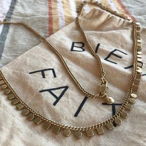 Madewell Mini Geochain Long Necklace